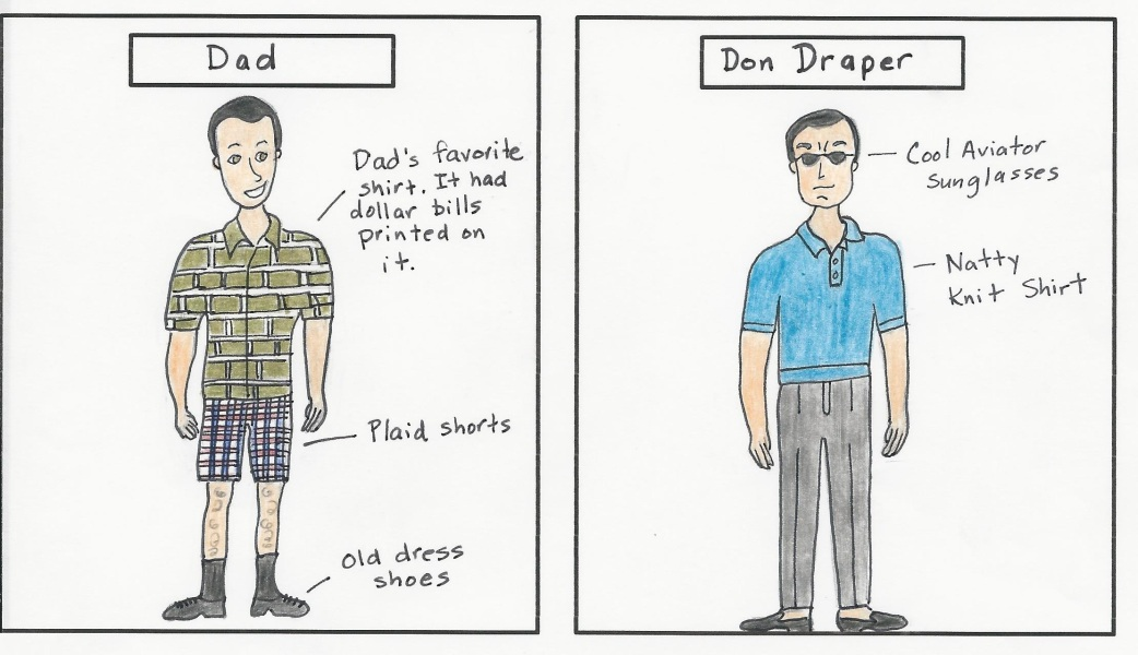 Dad and Don Draper 2