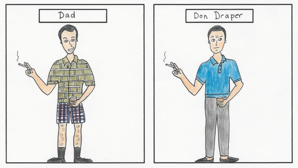 Dad and Don Draper 3