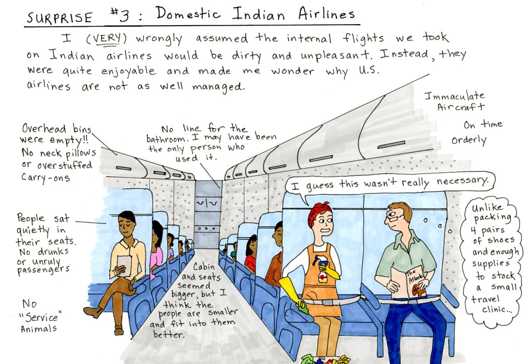 Surprise 3 Indian Airlines